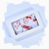 haine bebelusi - trusou botez 6 piese ingeras12 100x100 - Haine bebelusi-Trusou botez sase piese rosu cu ingeras