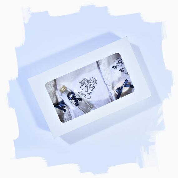 haine bebelusi - trusou botez 6 piese ingeras8 - Haine bebelusi-Trusou personalizat
