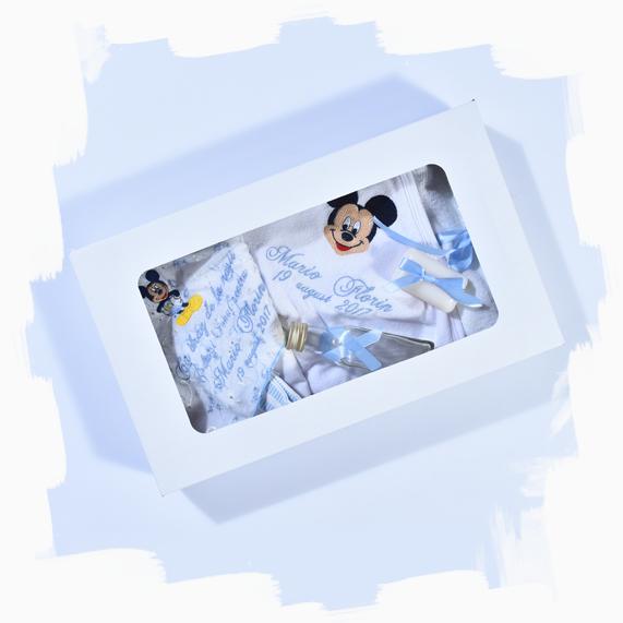 haine bebelusi - trusou botez 6 piese personalizat - Haine bebelusi-Trusou personalizat