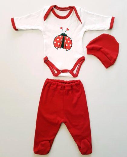 """haine bebelusi - costumas trei piese gargarita bumbac bebelusi 420x516 - Haine bebelusi-Costumas 3 piese """"Gargarita"""""""