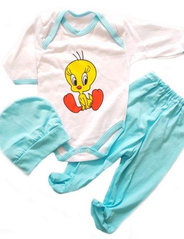 haine bebelusi - costumas 3 piese albastru 370x480 - Haine bebelusi-Acasa