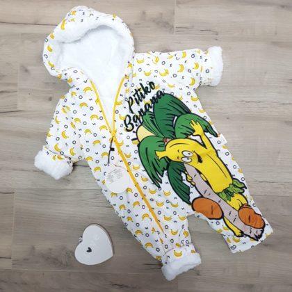 "haine bebelusi - combineon fas bebelusi nou nascuti banana 420x420 - Haine bebelusi-Combinezon fas gros ""Banana"""
