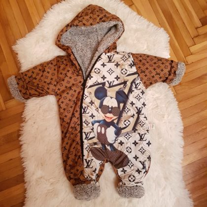 "haine bebelusi - combinezon fas bebelus mikey gros iarna 420x420 - Haine bebelusi-Combinezon fas gros ""Mikey"""