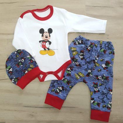 costumas bumbac bebelusi - costumas 3 piese bumbac mickey baieti albastru bebelusi1 420x420 - Costumas bumbac 3 piese Mickey 3-12 luni