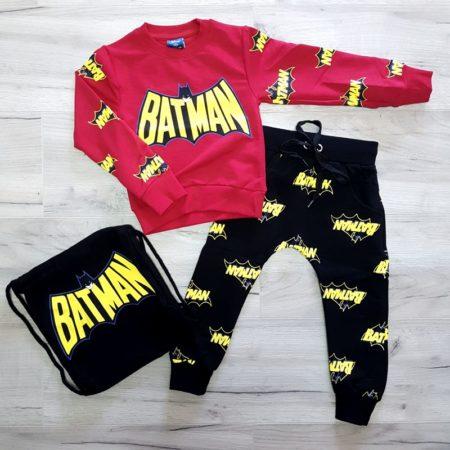 trening bumbac - trening bumbac bat man rosu baieti copii 450x450 - Trening bumbac Bat-Man rosu 1-6 ani haine bebelusi - trening bumbac bat man rosu baieti copii 450x450 - Haine bebelusi-Acasa