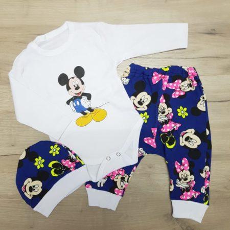 costumas bumbac bebelusi - costumas 3 piese bumbac bebelusi imprimeu 450x450 - Costumas bumbac 3 piese Mickey 3-12 luni haine bebelusi - costumas 3 piese bumbac bebelusi imprimeu 450x450 - Haine bebelusi-Acasa