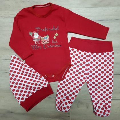 haine bebelusi - costumas craciun bebelusi copii6 420x420 - Costumas bebe Craciun Preferatul lui Mos Craciun
