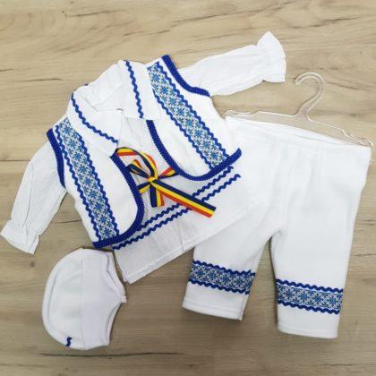 costumas national copii - costumas popular copii bebelusi baieti 11111 420x420 - Costum national copii albastru