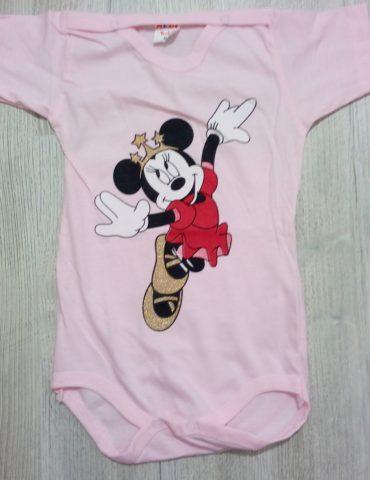 Body roz Minnie printesa 18 luni-3 ani