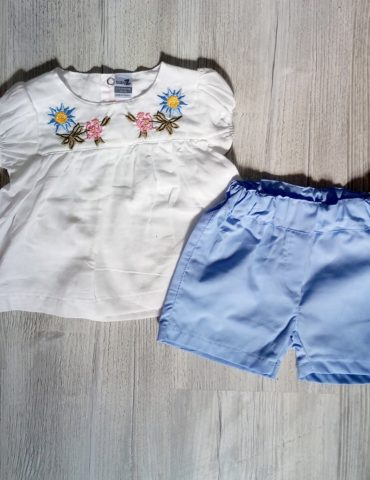 Rochita si pantaloni 6-12 luni